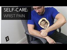Massage therapist self-care: Wrist pain - YouTube