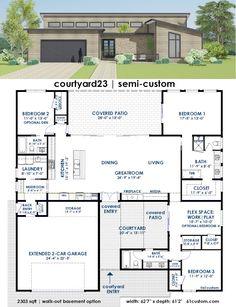 Casa de 4 quartos e garagem