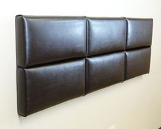 faux leather diy headboard - We have that navy blue nawgahide (sp) that would be pretty...