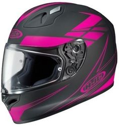 HJC FG-17 Force Pink Ladies Motorcycle Helmet, A Review