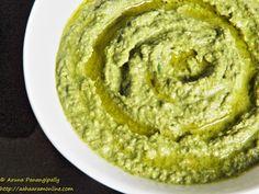 Spicy Coriander Green Chilli Hummus