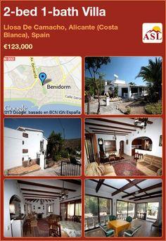 2-bed 1-bath Villa in Llosa De Camacho, Alicante (Costa Blanca), Spain ►€123,000 #PropertyForSaleInSpain