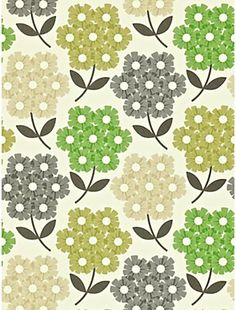 Orla Kiely House for Harlequin Rhododendron Wallpaper