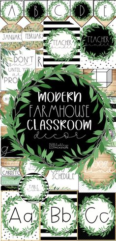 Modern Farmhouse Classroom Decor This is the perfect farmhouse classroom decor pack for your farmhouse themed classroom! It includes over 600 pages of amazing printable resources! This will make decoration your classroom SO easy! - My Elementary Education Classroom Decor Themes, Classroom Setting, Classroom Design, Classroom Organization, Classroom Management, Classroom Resources, Classroom Ideas, Preschool Classroom Decor, Modern Classroom