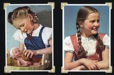 1930er Mädchen badet Schildkrötpuppe | Flickr - Photo Sharing!