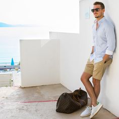 Love Wearing Shorts?  Here're 8 cool ways  #mensfashion