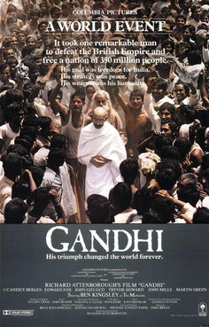 Pin it to Win it - MRR Oscar Giveaway - Gandhi - Best Picture 1982
