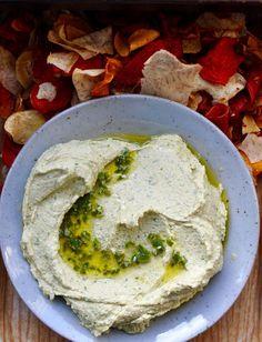 Cilantro Jalapeno Hummus Recipe | ¡HOLA! JALAPEÑO