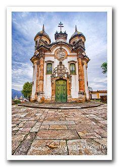 Ouro Preto, Minas Gerais, Brasil.