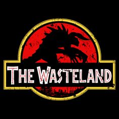 Super LikeLikes: The Wasteland Tshirt Print Design by ClayGrahamArt #fallout