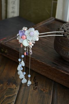 Original handmade tassels Chaitou classical hairpin hair ornaments Han Chinese clothing cheongsam costume accessories, the new version free ...