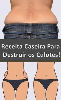 Receita Caseira Para Destruir os Culotes #dicas de saúde, #emagrecer, #dieta, #adelgazar, #beleza, #detox, #dieta, #perderpeso