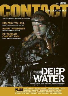 CONTACT Air Land & Sea issue 4, first published in December 2004