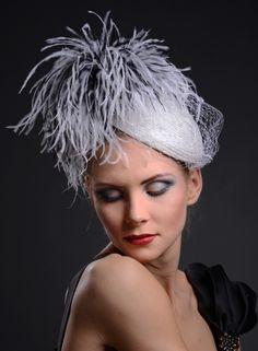 Diva Hat by Marge Iilane #millinery #HatAcademy
