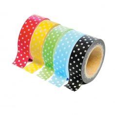Polka Dot Washi Tape Collection