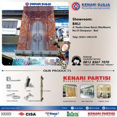 Sahabat Kenari Djaja Yang Sedang Berlibur Di Bali .... Ada Showroom Kami Berada Di :  Jl. Teuku Umar Barat (Marlboro) No.55 Telp : (0361) 490 678, Fax : (0361) 490 688 DENPASAR  Informasi Hub : Ibu Tika 0812 8567 7070 ( WA / Telpon / SMS ) 0819 0506 7171 ( Telpon / SMS )  Email : digitalmarketing@kenaridjaja.co.id  [ K E N A R I D J A J A ] PELOPOR PERLENGKAPAN PINTU DAN JENDELA SEJAK TAHUN 1965  SHOWROOM :  JAKARTA & TANGERANG 1 Graha Mas Kebun Jeruk Blok C5-6 Tel..