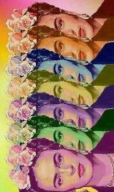 Resultado de imagen para caricatura frida kahlo