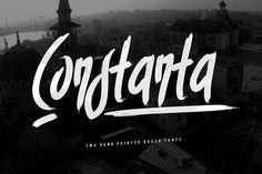 Constanta Brush Font + Swashes by Maulana Creative on @creativemarket