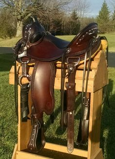 Cascade Wade Saddle | Custom, Handmade Saddle