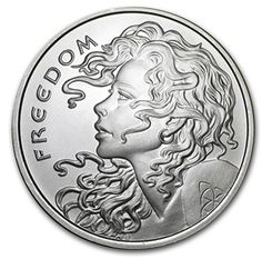 Call to order 1 oz Silver Round - Freedom Girl at APMEX. We offer competitive Silver prices on Silver Shield and secure online ordering. Silver Coins For Sale, Gold Coins, Freedom Girl, Peace Dollar, All Currency, Silver Bullion, Silver Prices, Silver Rounds, Coin Collecting