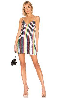 8567deeb026 Shop for Caroline Constas Elena Slip Dress in White Multi at REVOLVE.