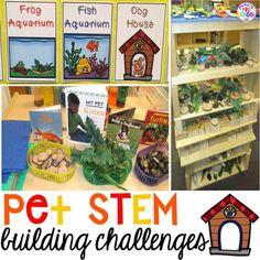STEM I Can Build and STEM Drawers - Pocket of Preschool