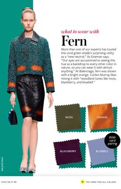 How to Wear Every Color From Fall 2015 - The Key ItemThe Key Item