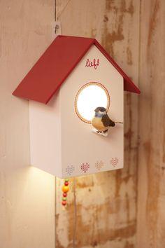 lief! lifestyle~ Vogelhuislampje