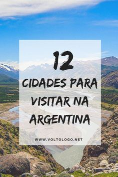 12 cidades para você viajar pela Argentina. Dicas de destinos imperdíveis. Amazing Destinations, Travel Destinations, Travel Around The World, Around The Worlds, Places To Travel, Places To Visit, Patagonia, Argentina Travel, Travel Organization