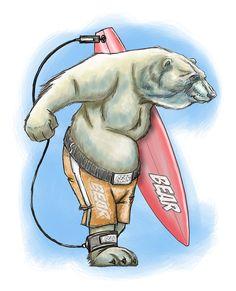 Windsurf Bear Balaton