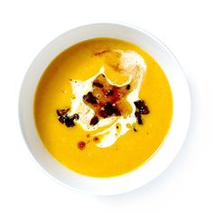A silky, subtly sweet fennel and carrot soup that makes fall vegetables feel downright swanky.