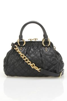 Marc Jacobs Mini Stam Handbag In Black - My dream bag. Someday I'll have an extra $1300 laying around and I'll buy this