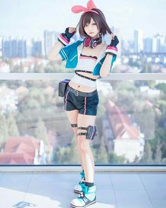 Kawaii Cosplay, Anime Cosplay Mädchen, Asian Cosplay, Cute Cosplay, Cute Kawaii Girl, Tv Girls, Japan Girl, Poses, Style