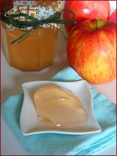 Gelée de pommes Healthy Eating Tips, Healthy Nutrition, Vegetable Drinks, Sweets Recipes, Food Menu, Creative Food, Food Design, Diy Food, Chutney