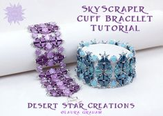 The Skyline and Skyscraper Cuff and Collar di DesertStarCreations