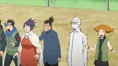The episode starts out with a battle between an older Boruto and Kawaki. In this distant future Kawaki has leveled the Leaf Village and has supposedly killed Naruto. Before Kawaki and Boruto continues to fight, we are directed back into the present day Sasuke Sharingan, Hinata Hyuga, Naruto Uzumaki, Naruto Gaiden, Boruto And Sarada, Naruto Anime, Naruto Oc, Naruto Funny, Gaara