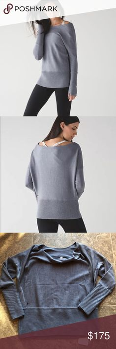 Lululemon SATTVA sweater size 10 New with tags. Comfy oversized sweater. No trades. PRICE FIRM lululemon athletica Sweaters