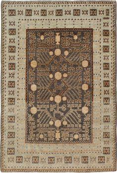 Antique Khotan Rug, No. 15599 - 4ft. x 6ft.