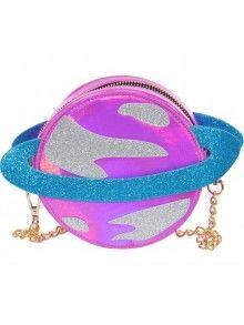 Skinny Dip Pink Planet Cross Body Bag