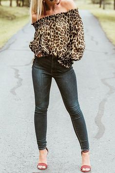 ae7360df8a77 Details: Material: Polyester Style: Daily Pattern Type: Leopard Sleeve  Length: Long