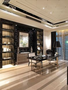 Trendy Home Office Design Modern Contemporary Ideas Modern Office Design, Office Interior Design, Home Office Decor, Office Interiors, Home Interior, Office Furniture, Home Decor, Office Ideas, Furniture Makers