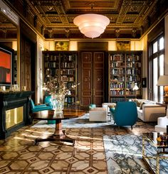 The modern maximalist décor of this five-star hotel calls to mind places where…