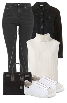 """""""Untitled #94"""" by lana-moon ❤ liked on Polyvore featuring Topshop, Étoile Isabel Marant, Yves Saint Laurent and IRO"""