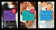 The Montgomery Brothers Series by Samantha Chase at The REading Cafe: http://www.thereadingcafe.com/the-montgomery-brothers-by-samantha-chase-series-review/