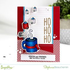 Quick & Simple Christmas Card Video Series Christmas Cards 2017, After Christmas, Simple Christmas, Clear Stamps, Cocoa, Things To Come, Sugar, Holiday Decor, Create