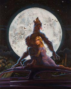 I Was a Teenage Werewolf by DamianFulton.deviantart.com on @deviantART