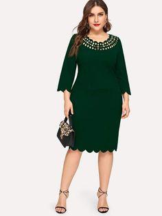 6df5a95dc3 54 Best Plus Size Dresses images in 2019 | Plus size dresses, Plus ...