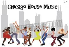 Chicago House Music shirt available from Surly Shirt Project www.surlyshirtproject.com