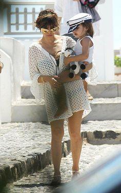 Kourtney Kardashian in Greece