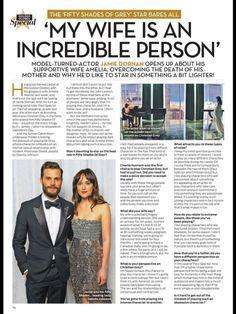 "Jamie Dornan ""OK"" Magazine Interview - Quotes, Scenes,Video,Soundtrack,Christian Grey - Fifty Shades Darker Movie"